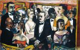 Max Beckmann, Paris Society, 1931.