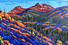 Spring Hillside Kings Crown Peak by Neil Myers