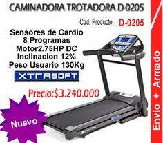 Caminadora Trotadora TR-600 Colombia Ref D-0205 Cardio, Fitness, Gym Equipment, Treadmills, Fitness Equipment, Gym, Deporte, Tecnologia, Colombia