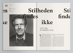 Magazine #layout #design #magazine #portrait