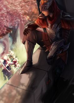 Shen, Zed, Akali league of legends champions