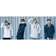 [Picture] BTS For Puma 15AW SPACE DOWN JACKET COLLECTION [151027]... ❤ liked on Polyvore featuring activewear and activewear jackets