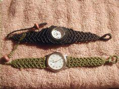 マクラメバンドの腕時計 : gemzdibeez 天然石から・・・まで