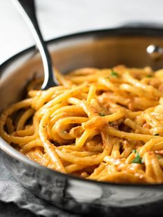 Five-Ingredient Sun Dried Tomato Alfredo | Community Post: 15 Spaghetti Dishes That Would Make Your Grandma Jealous