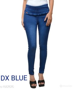Jeans Trendy Solid Denim Jean Fabric: Denim Size: 30 in, 32 in, 34 in, 36 in, 38 in, 40 in Length: Up To 38 in Type: Stitched Description: It Has 1 Piece Of Women's Jean Pattern: Solid Sizes Available: 28, 30, 32, 34, 36, 38, 40   Catalog Rating: ★4.1 (19587)  Catalog Name: Stylish Solid Denim Jeans Vol 6 CatalogID_129016 C79-SC1032 Code: 183-1057575-939