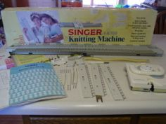 SINGER LK100 KNITTING MACHINE IN ORIGNAL BOXtem condition:Used Time left: 7d 01h (Feb 02, 2014 17:49:50 EST) Current bid:US $112.00 Approximately C $124.00 [ 5 bids ]  Place bid  Enter US $114.50 or more