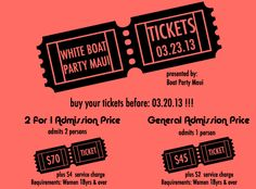 For Boat Party Maui Tickets go to http://boatpartymaui.com