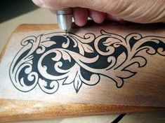 How to Draw and Carve an Acanthus Leaf - Woodcarving Workshops - YouTube
