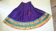 Purple and Orange Bollywood Style Lehenga by veeshack on Etsy