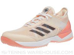 low priced 08f31 aca4d adidas Ubersonic 3.0 Clay CoralIndigo Womens Shoes