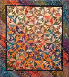 """""""Indian Summer"""" (from Quilting by the Bay)"""