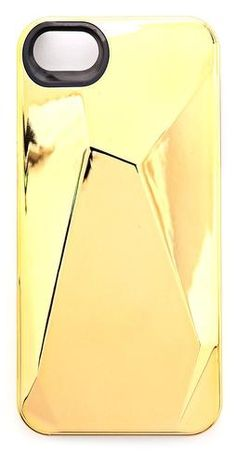 3bd68ab4d88 Marc by Marc Jacobs Metallic Faceted iPhone 5   Case