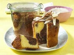 Kuchen im Glas - Rezepte für süße Kleinigkeiten - marmorkuchen-im-glas