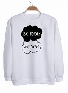 school not okay                                                                                                                                                                                 More