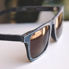 77348b61ef0d3 Sunglasses Made From Recycled Jeans