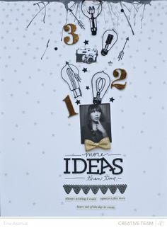 More Ideas than Time by lifelovepaper at @Studio_Calico #SCcuppa