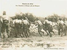 Carte Postale Postcard 1914-1918 1914 Nos chasseurs d'Afrique près de Nieuport Our fighters of Africa close to Nieuport   Flickr - Photo Sharing!