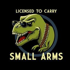 Permit? T-Rex don't need no stinking permit!