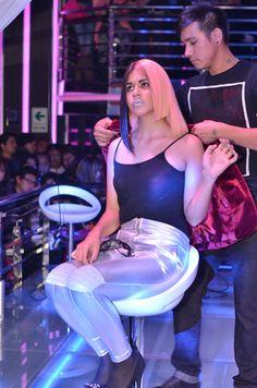 Foto tomadas por estilistas asocaidos peru en la Cosmo Beauty 2014