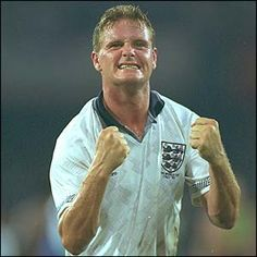 One of my heroes: Gazza England National Football Team, National Football Teams, England Football, Brian Laudrup, English Legends, Ss Lazio, England Players, Rangers Fc, Retro Football