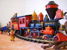 Playmobil Country, Playmobil City, Diorama, Star Wars, Electric Train, Train Station, Wild West, Westerns, World