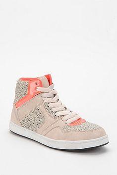 Deena & Ozzy Floral High-Top Sneaker