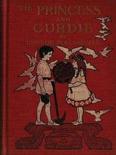The Princess and Curdie by George MacDonald, 1949 Children's Book Illustration, Book Illustrations, George Macdonald, Popular Cartoons, Grimm Fairy Tales, Red Books, Vintage Children's Books, Arabian Nights, Before Us