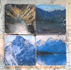 US Nat'l Parks Stone Coasters/Hostess Gift/Gift for the
