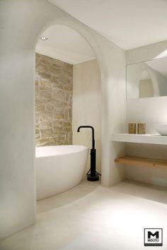 Home Decor Ideas Interior Design .Home Decor Ideas Interior Design Hotel Bathroom Design, Zen Bathroom, Natural Bathroom, Chic Bathrooms, Modern Bathroom Design, Bathroom Ideas, Small Bathroom, Small Luxury Bathrooms, Luxury Hotel Bathroom