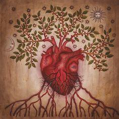 anatomical heart - Daniel Martin Diaz