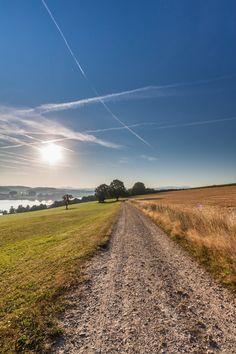 Morning walk 7am somewhere in Bavaria