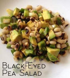 A quick, easy and delicious recipe for black-eyed pea salad.