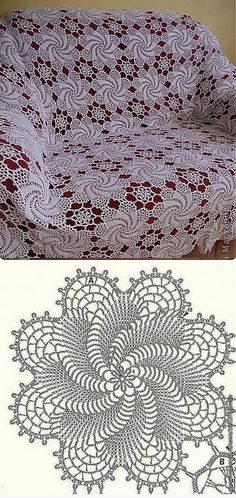 64 Ideas crochet granny square circle beautiful for 2019 Filet Crochet, Beau Crochet, Crochet Chart, Crochet Home, Thread Crochet, Irish Crochet, Crochet Motif, Crochet Designs, Crochet Doilies