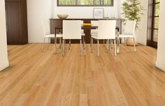 Natural Red Oak Select & Better Dining Room contemporary-dining-room