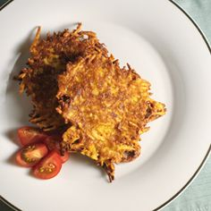 Chipotle Sweet Potato Latkes – The Foodee Project  http://www.thefoodee.com/recipe/3637/
