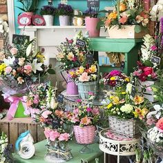 Don't let your mam down! Lots and lots of plants, bouquets, and arrangements ready to take away. #flowershop #florist #mothersday #shoplocal #shopirish #bloomsdayflowers