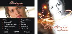 Diseño Caratula CD Cantante: Victoria Ojeda http://www.facebook.com/victoria.ojedaleiton