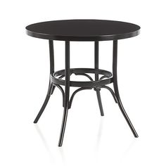 "30"" Vienna Black Bistro Table in Dining Tables 