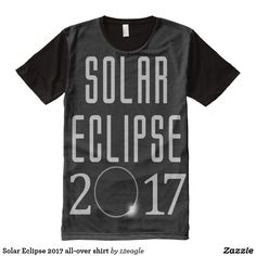 Solar Eclipse 2017 all-over shirt