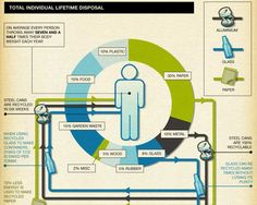 40 Super-Cool Infographics You Absolutely Have To See  //How much do we really recycle?