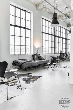 【设计】粗犷但不杂乱,即时尚又特色,复古结合现代,这就是工业风Industrial Design公寓!
