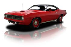 1970 Plymouth 'Cuda Red