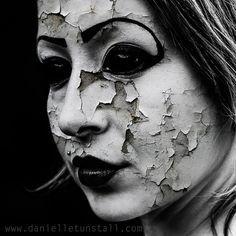 crumbling face makeup - Google Search