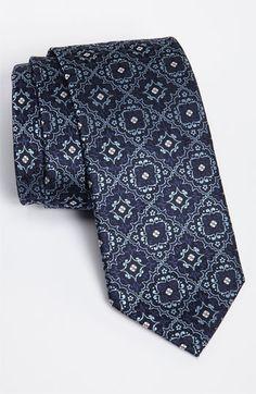Canali Woven Silk Tie  MetalBlazerButtons.com Approved!