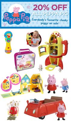 ★ FLASH SALE ★ Save up to 40% on all Peppa Pig & Sylvanian Families at www.kidstuff.com.au.  All Peppa Pig & Sylvnian Families online is marked down 20% until Thursday midnight. PLUS spend over $100 and use coupon code KIDSFACEBOOK and you'll get another $20 off everything in your basket, as well as FREE SHIPPING & GIFT WRAPPING!   Shop Sylvanian Families now: http://kidstuff.com.au/default/sylvanian-families  Shop Peppa Pig now: http://kidstuff.com.au/default/Peppa%20Pig