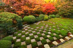 東福寺方丈庭園 紅葉
