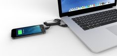NomadKey & NomadClip are the world's smallest USB cables for your smartphone.
