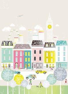 Illustrations by Laura Amiss #kid #art