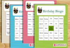 63 trendy ideas birthday games for adults free printable bingo cards Dinner Party Games For Adults, Birthday Games For Adults, Pool Party Games, Birthday Party Games, Wwe Birthday, Birthday Ideas, Happy Birthday, Birthday Message For Boss, Birthday Gifts For Sister