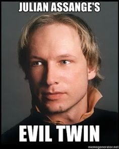 They told me to get a life so i took 91 - Anders Behring Breivik Troll Meme, Licence To Kill, Get A Girlfriend, Divorce Lawyers, Get A Life, Evil Twin, Right Wing, True Crime, World Of Warcraft